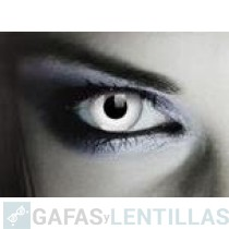 LENTILLAS COLORES 'FANTASY  COLORS WHITE OUT' (CAJA 2 LENTILLAS)