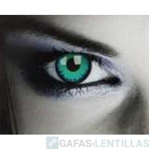 LENTILLAS COLORES 'FANTASY  COLORS GREEN WEREWOLF' (CAJA 2 LENTILLAS)