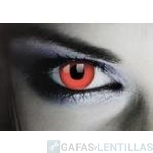 LENTILLAS COLORES 'FANTASY  COLORS RED DEVIL'  (CAJA 2 LENTILLAS)
