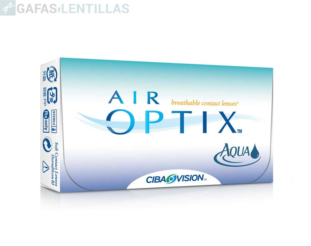 AIR OPTIX AQUA CAJA 3 LENTILLAS
