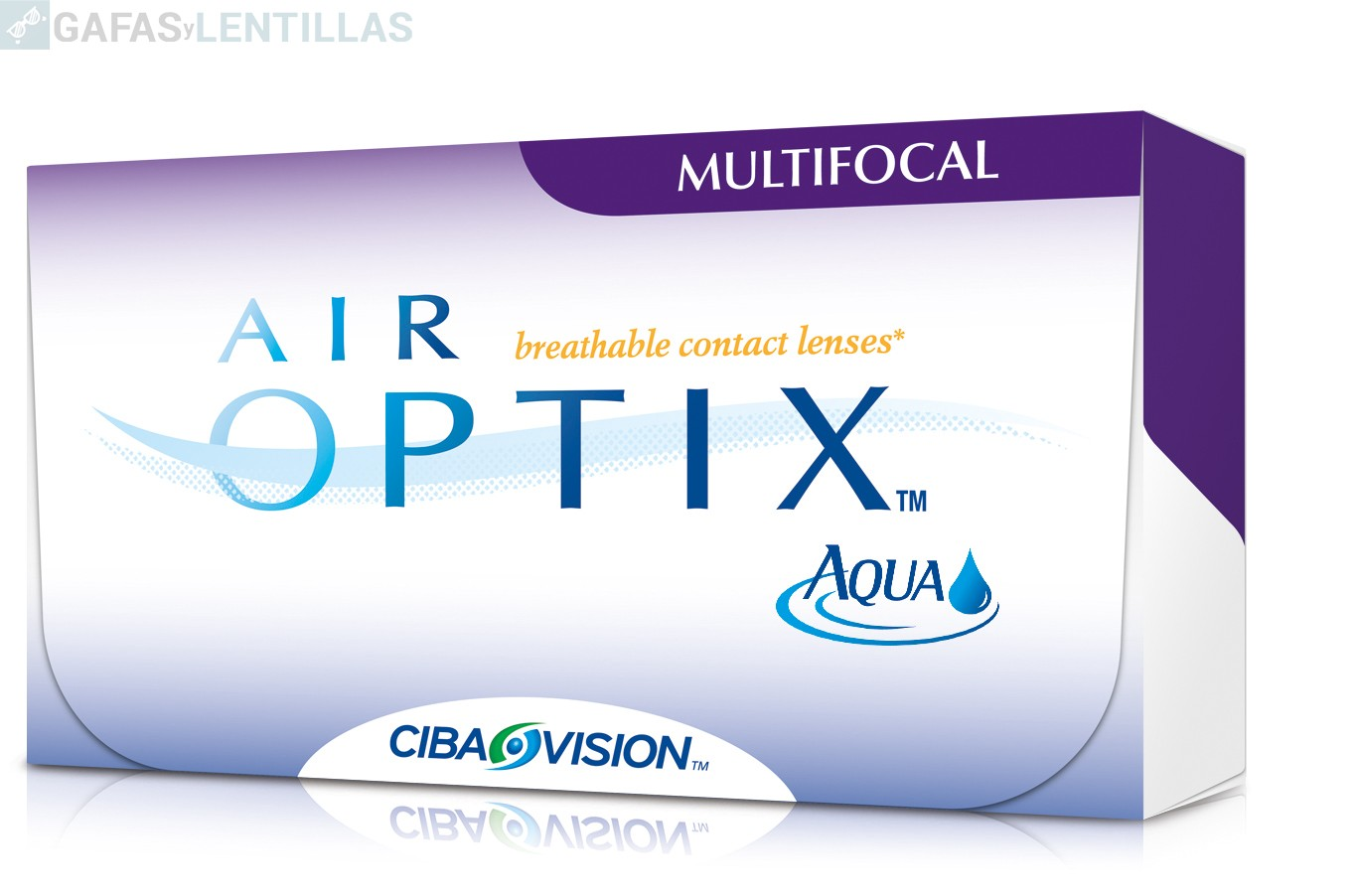 AIR OPTIX AQUA MULTIFOCAL CAJA 6 LENTILLAS