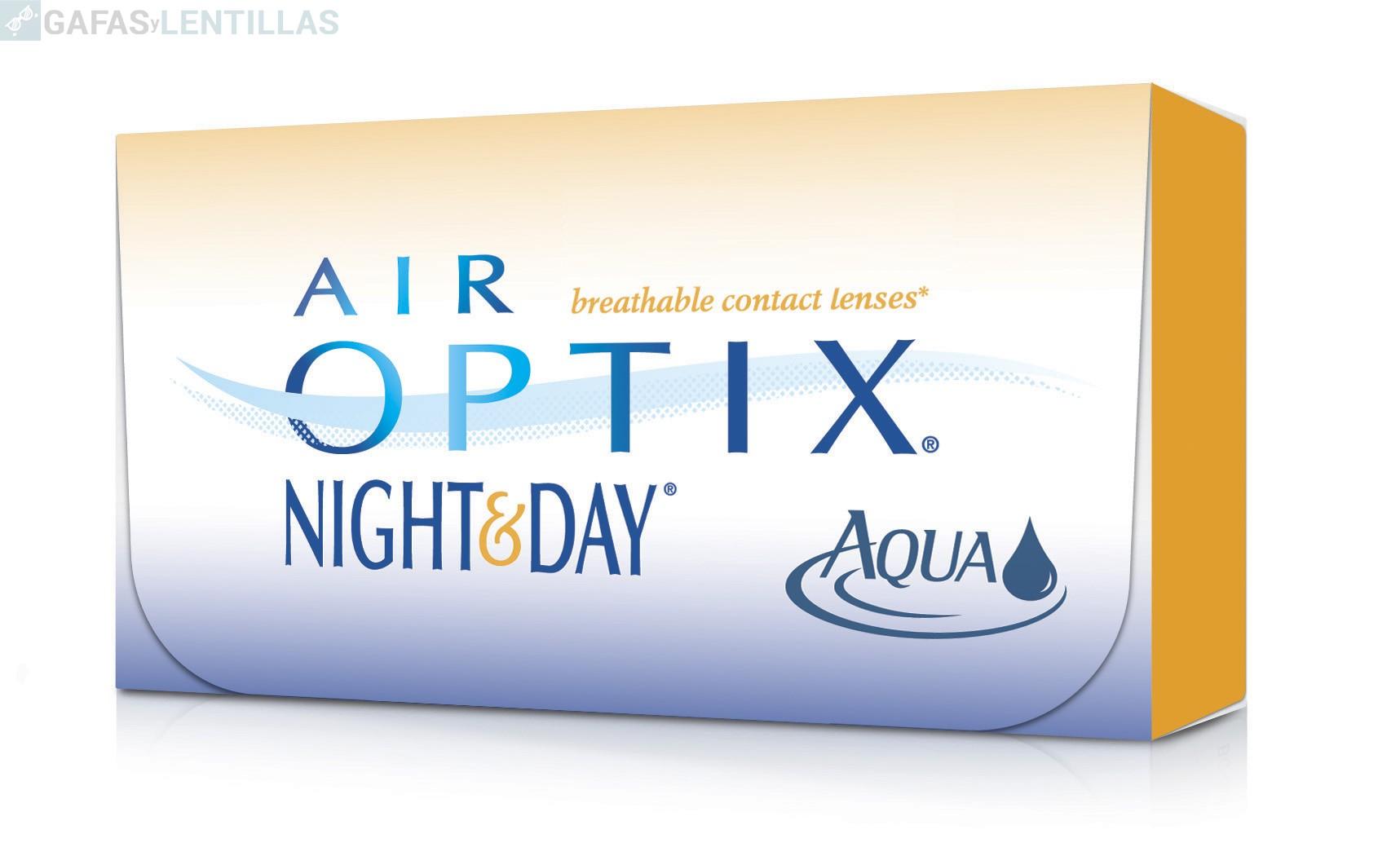AIR OPTIX NIGHT & DAY CAJA 6 LENTILLAS