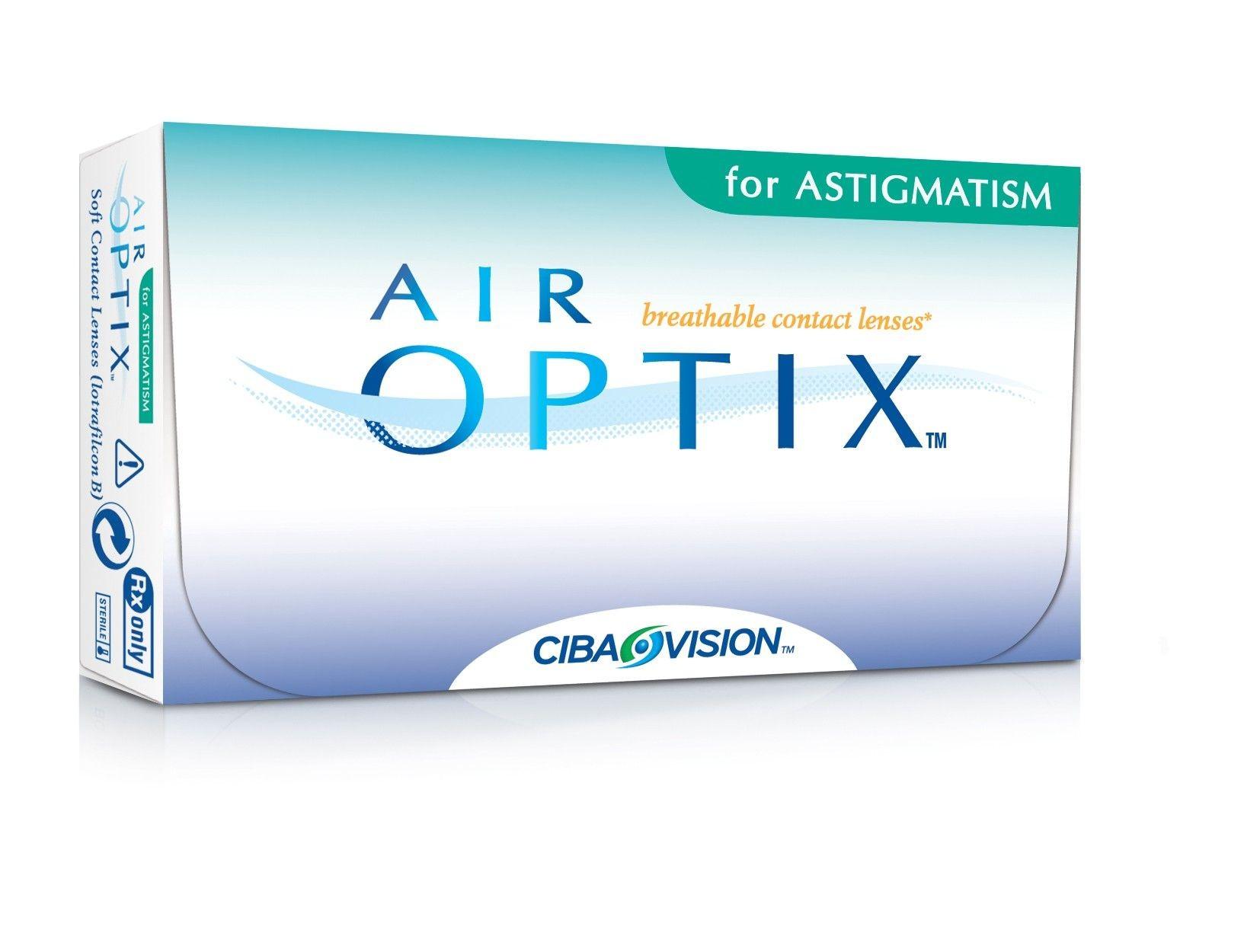 AIR OPTIX AQUA FOR ASTIGMATISM CAJA 6