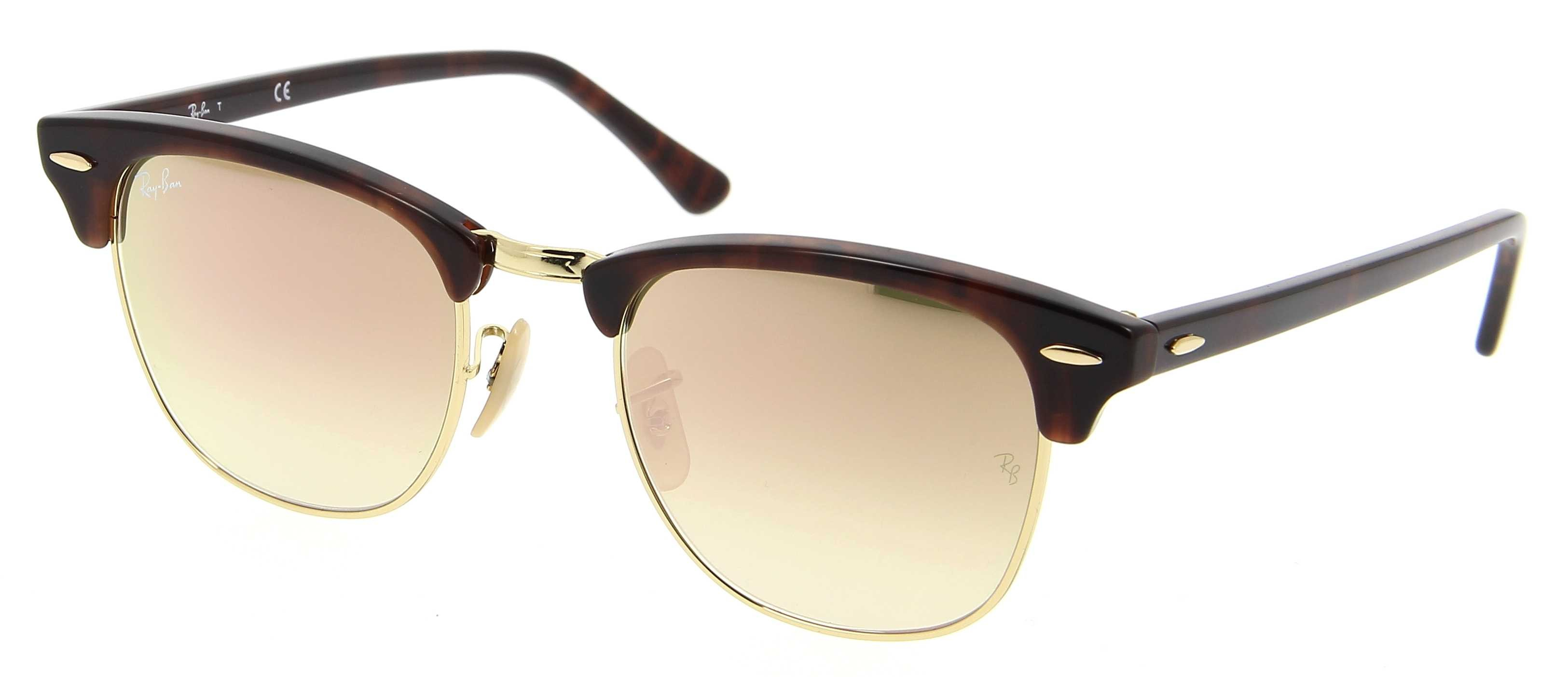 RAY-BAN 3016 CLUBMASTER FLASH LENSES GRADIENT 990/7O