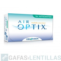 AIR OPTIX AQUA FOR ASTIGMATISM CAJA 6