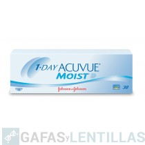 1-DAY ACUVUE MOIST CAJA 30 LENTILLAS