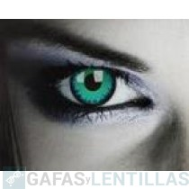 LENTILLAS COLORES 'FANTASY  COLORS GREEN WEREWOLF' (CAJA 2 LENTILLAS)