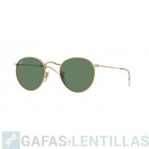 RAY-BAN ROUND METAL 3447 001 VERDE CLASICO