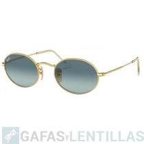 RAY-BAN 3547 OVAL ORO AZUL DEGRADADA