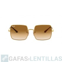 RAY-BAN 1971 SQUARE EVOLVE ORO MARRON DEGRADADA