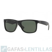 RAY-BAN 4165 JUSTIN CLASSIC NEGRO VERDE CLASICA